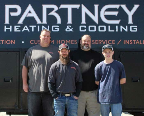 Partney Heating and Cooling Employees